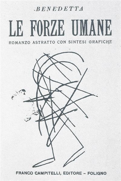 Cover from Le Forze Umane, 1924 - Benedetta