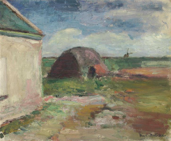 Paysage De Bretagne - Henri Matisse