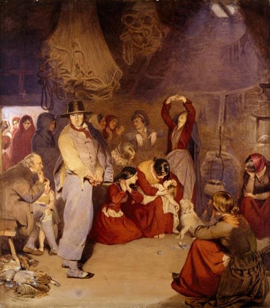 the Aran Fishermans Child, 1841 - Frederick William Burton