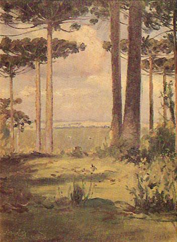 Pinheiros, 1930 - Alfredo Andersen