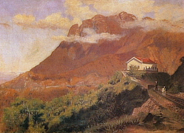 Vista Da Curva Do Cadeado, 1920 - Alfredo Andersen
