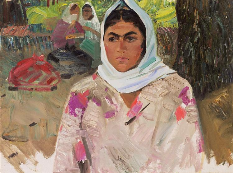 Portrait of Zvenovoi - Boyukagha Mirzazade