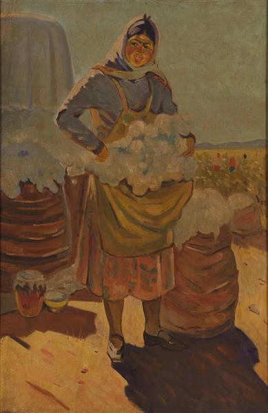 Cotton woman - Boyukagha Mirzazade