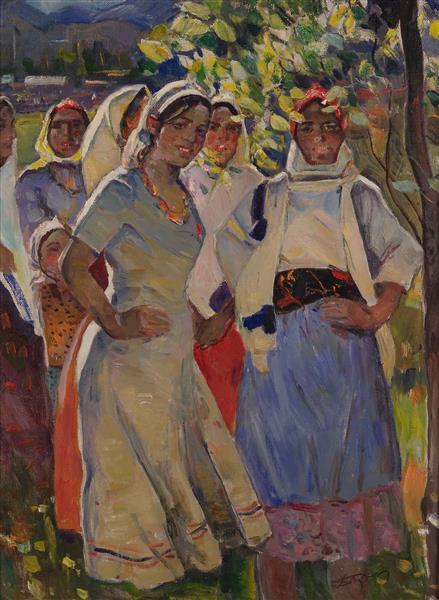 girls from Lankaran - Boyukagha Mirzazade