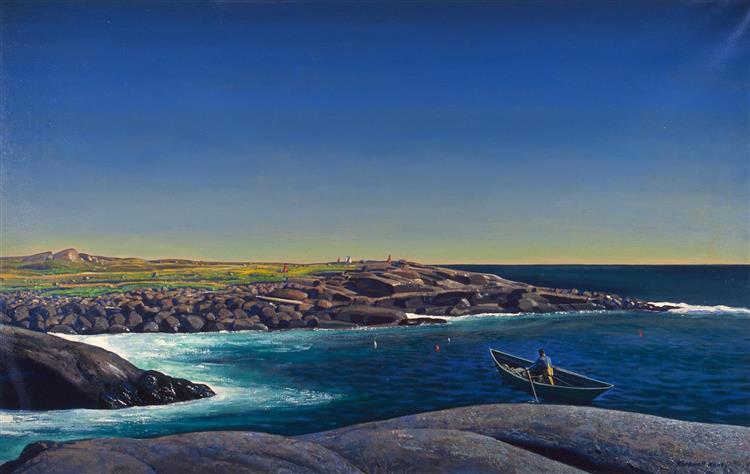 Maine Lobsterman - Rockwell Kent