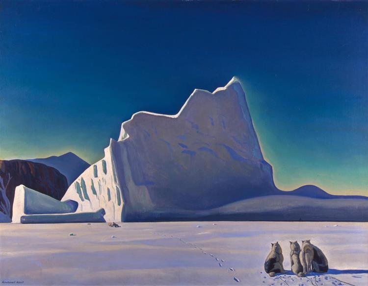 Seal Hunter, North Greenland, 1933 - Rockwell Kent
