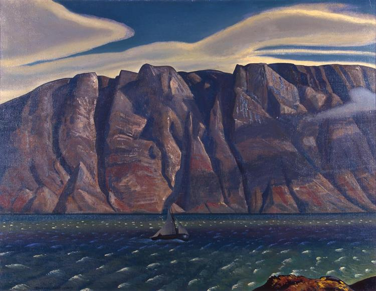 Squall, Greenland - Rockwell Kent