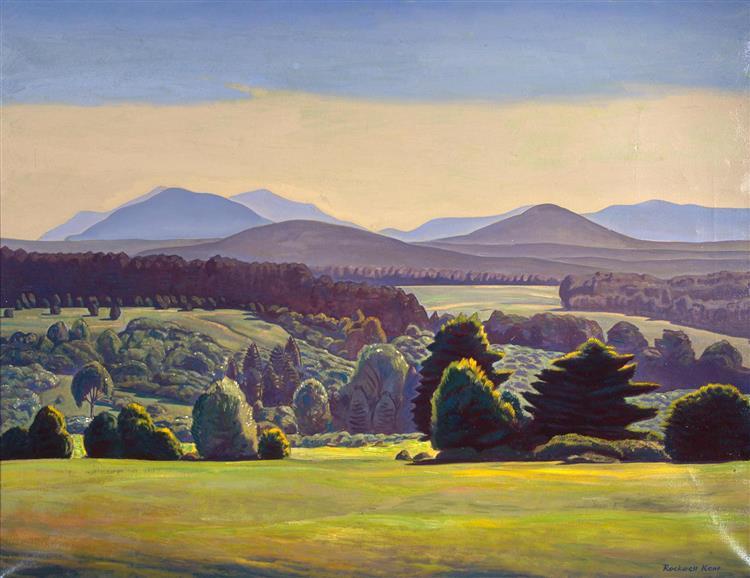 Summer Day. Asgaard, 1950 - Rockwell Kent