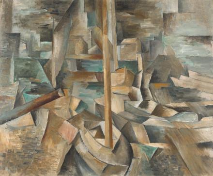 Harbor, 1909 - Georges Braque