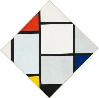 Tableau No. IV - Lozenge Composition - Пит Мондриан