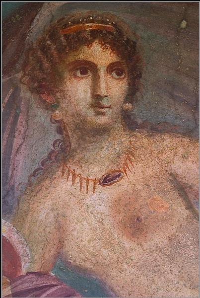 Aphrodite Anadyomene from Pompeii (detail) - Apelle
