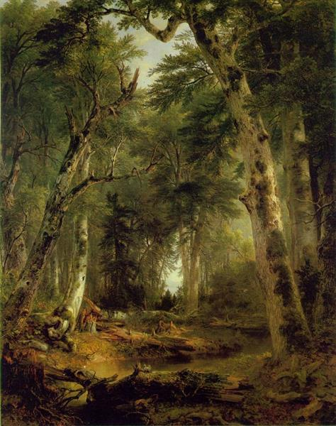 In the Woods - Asher Brown Durand