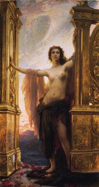 Herbert James Draper, The Gates of Dawn, 1900, 1900 - Herbert James Draper
