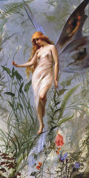 Lily Fairy - Luis Ricardo Falero
