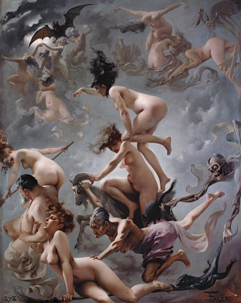 Witches Going to Their Sabbath, 1878 - Luis Ricardo Falero