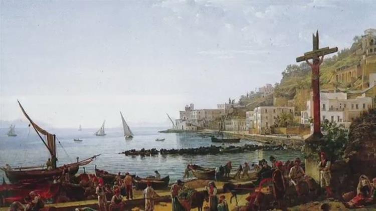 Napoli Mergellina., 1826 - Sylvester Shchedrin