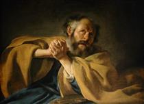 The Repentance of Saint Peter - Иоганн Морельсе