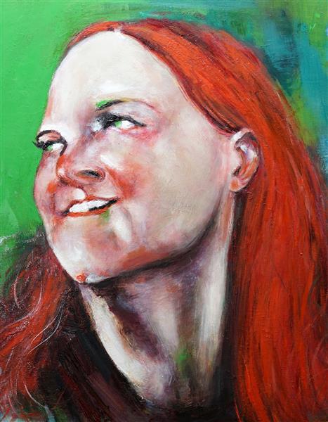 Portrait of Ursula Roschger, 2018 - Gazmend Freitag
