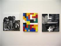 Tetris (triptych) - Sašo Vrabič