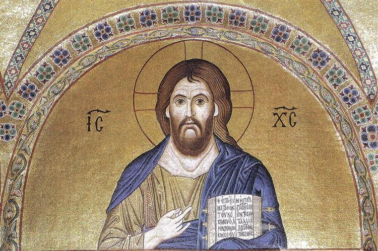 Pantocrator, c.1025 - Byzantine Mosaics