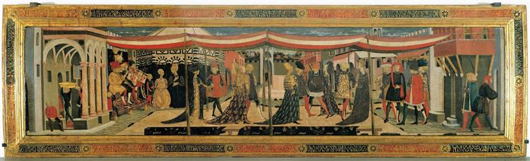 Cassone Adimari, 1450 - Lo Scheggia