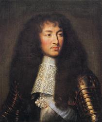 Portrait of Louis XIV - Charles Le Brun