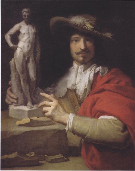Portrait of the Sculptor Nicolas Le Brun - Charles Le Brun