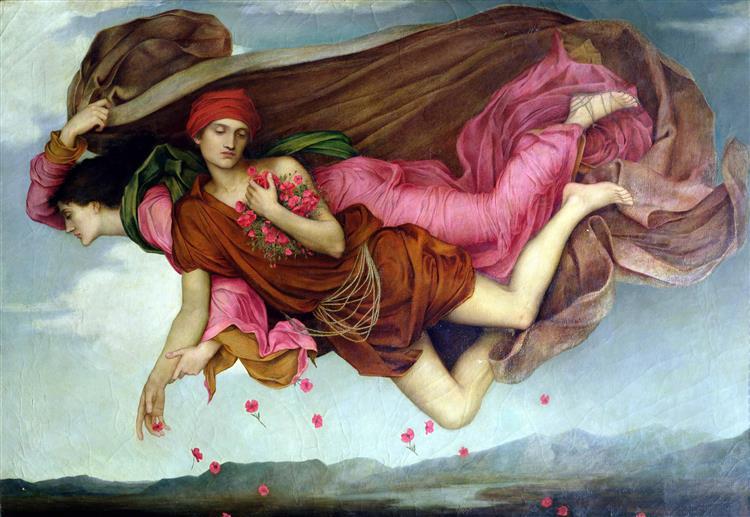 Night and Sleep, 1878 - Evelyn De Morgan