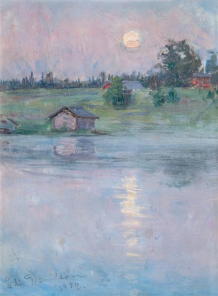 Summer Night, 1894 - Danielson-Gambogi, Elin