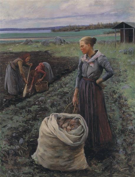 Potato Harversters, 1893 - Elin Danielson-Gambogi