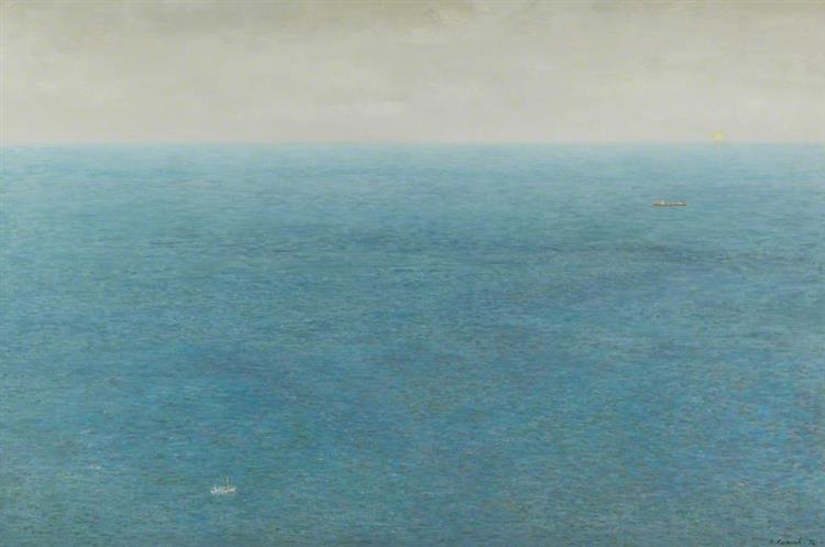 Eddistone Light, 1974 - Richard Eurich