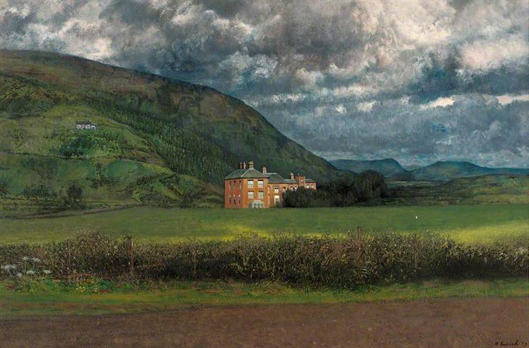 Stormy Morning, Mid Wales, 1969 - Richard Eurich