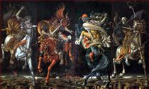 The Four Horsemen of the Apocalypse - Werner Peiner