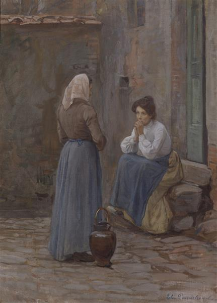 Two Women, 1905 - Elin Danielson-Gambogi