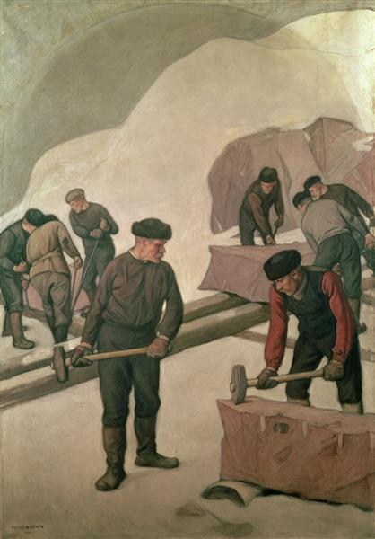Stone Breakers, 1903 - Pekka Halonen