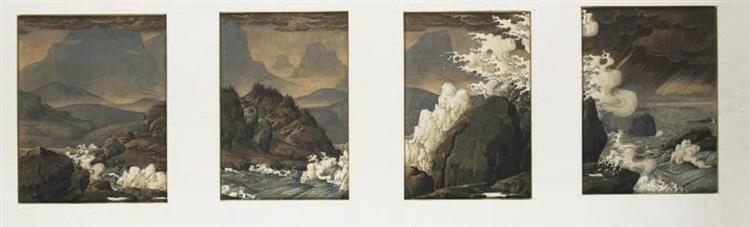 Hommage à Hokusai - Werner Peiner
