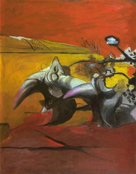 Horned Forms, 1944 - Graham Sutherland