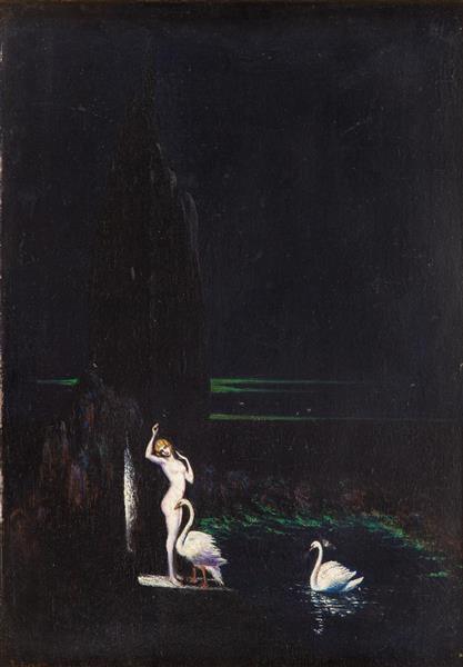 Leda, 1928 - Boleslas Biegas