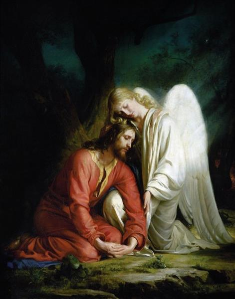 Christ in Gethsemane, 1880 - Carl Heinrich Bloch