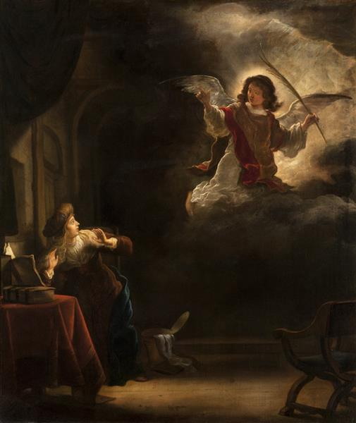 The Annunciation, 1655 - Salomon Koninck