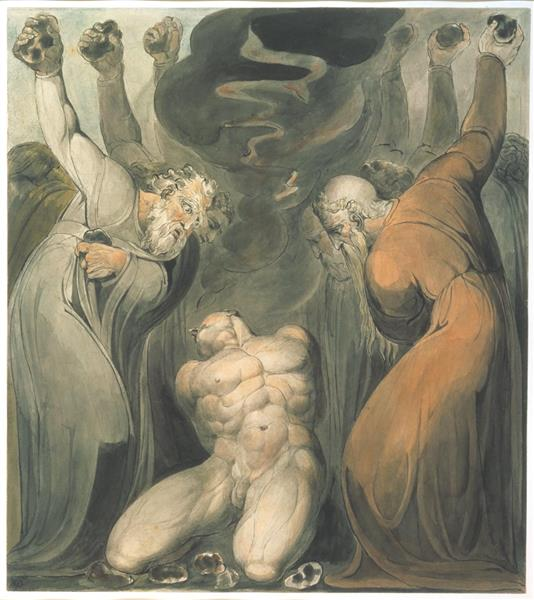 The blasphemer - William Blake