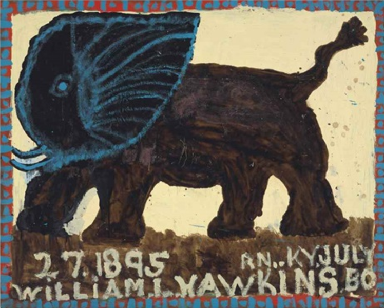 Big Jumbo, 1988 - William Hawkins