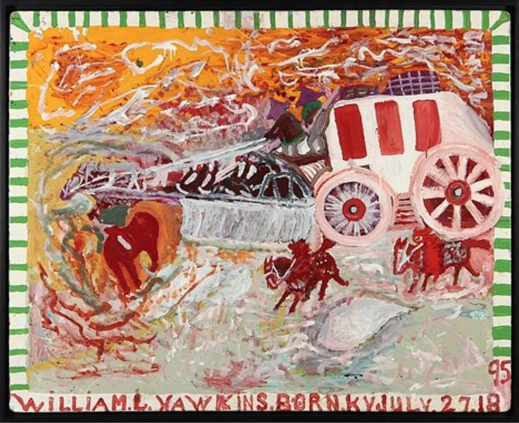 Overland Stagecoach, 1986 - William Hawkins