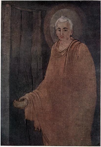 Budhha as Medicant, c.1914 - Abanindranath Tagore