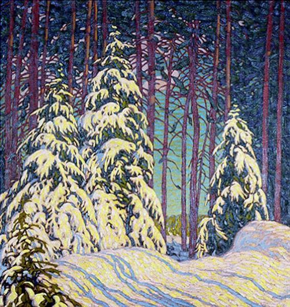 Winter Sunrise, 1913 - Lawren Harris