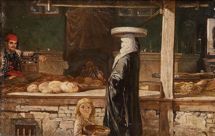 Baker, c.1887 - Ivan Mrkvička