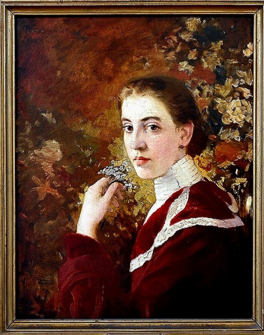Portrait of a Young Woman, 1912 - Ivan Mrkvička