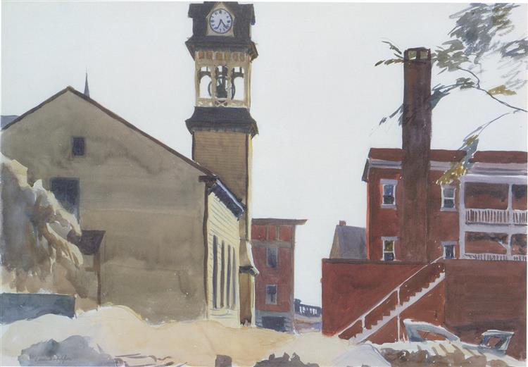 Bell Tower, 1923 - Edward Hopper