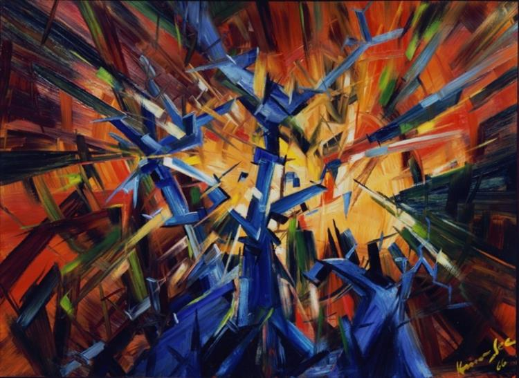 Untitled, 1966 - Konrad Zuse