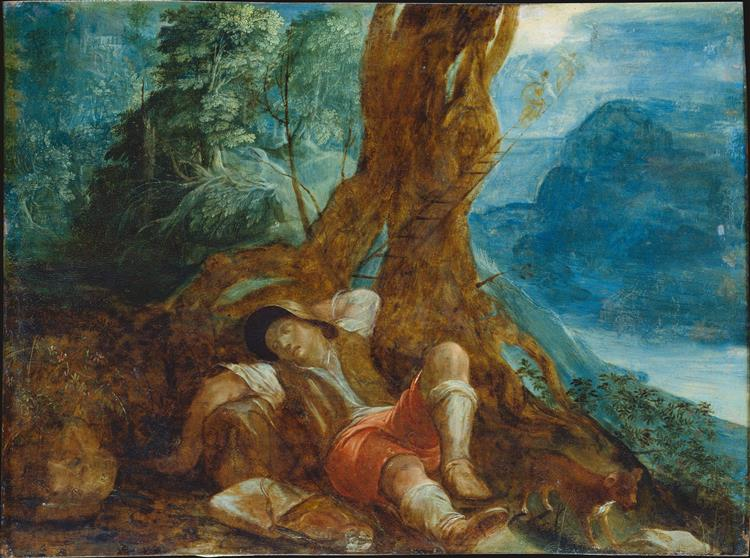 Jacob's Dream, c.1598 - Adam Elsheimer